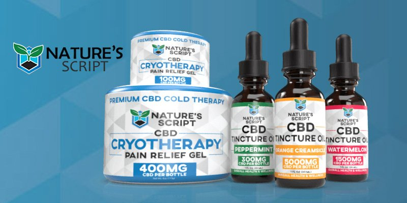Nature Script Review | The Best and Finest Place for CBD Products